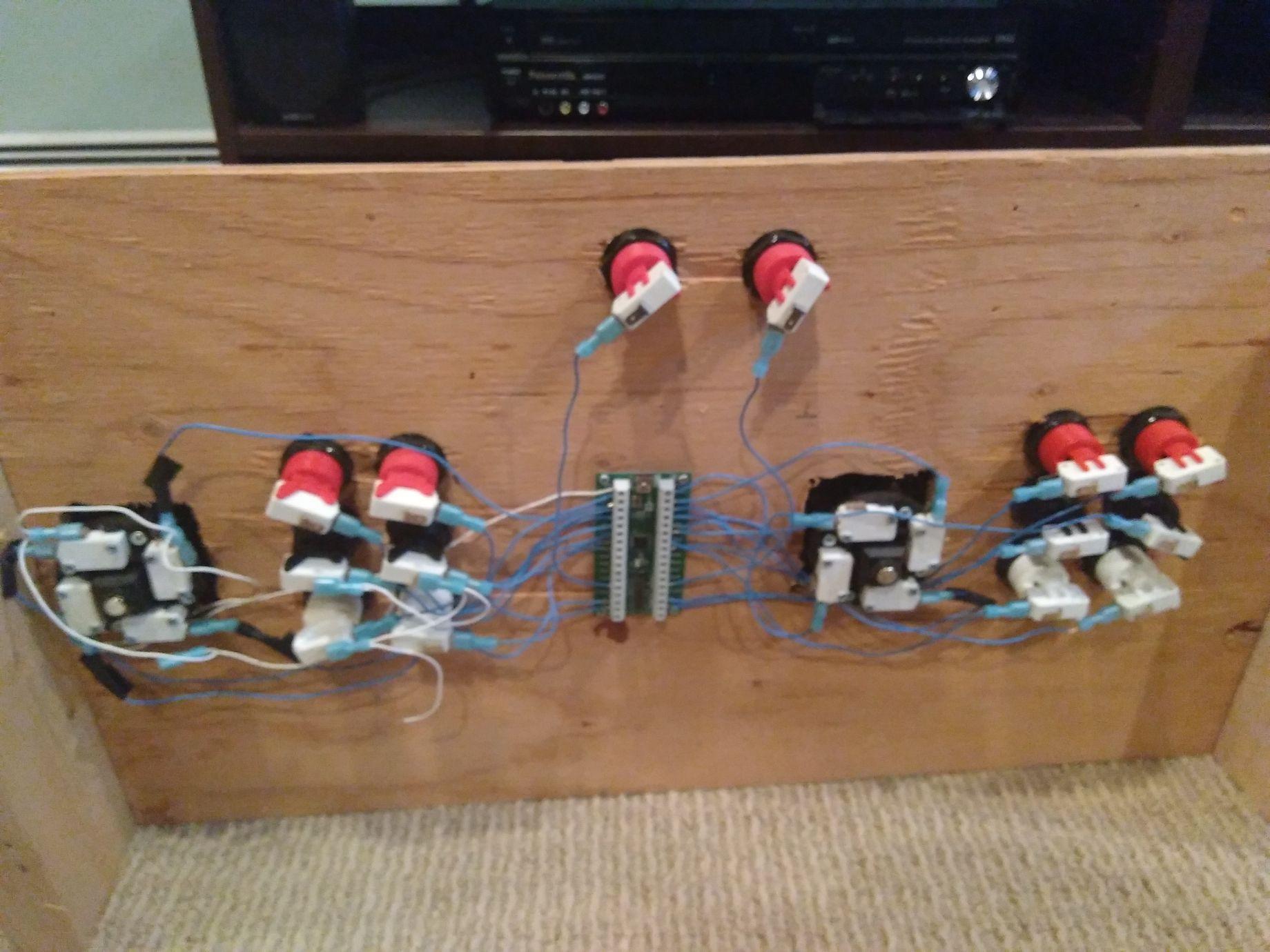 Arcade Controller rewire