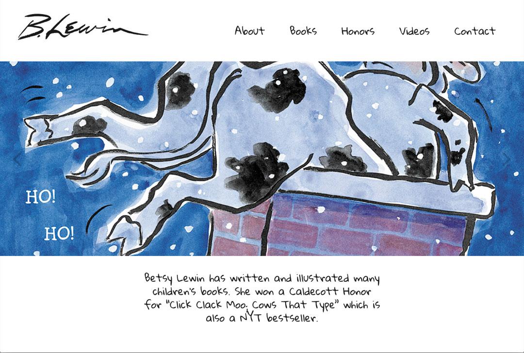 Betsy Lewin website