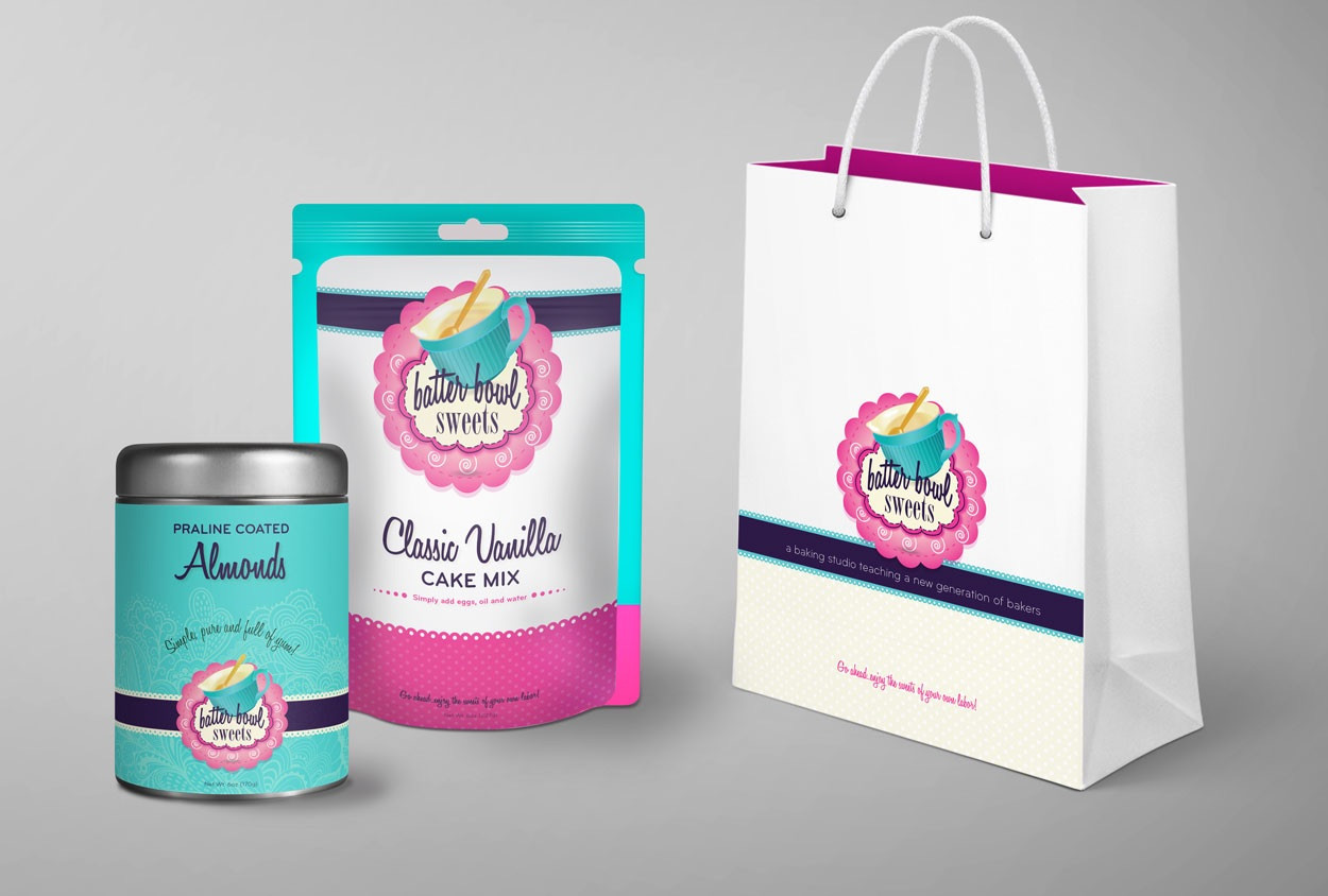 Educational Baking Studio Branding