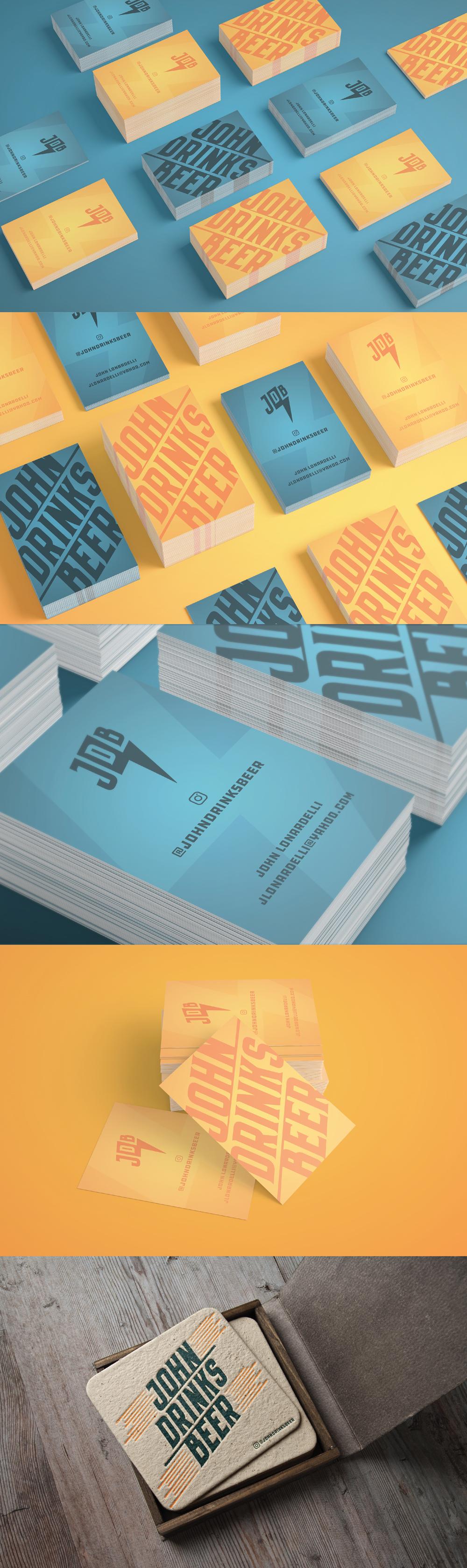 JDB Branded Cards & Coasters