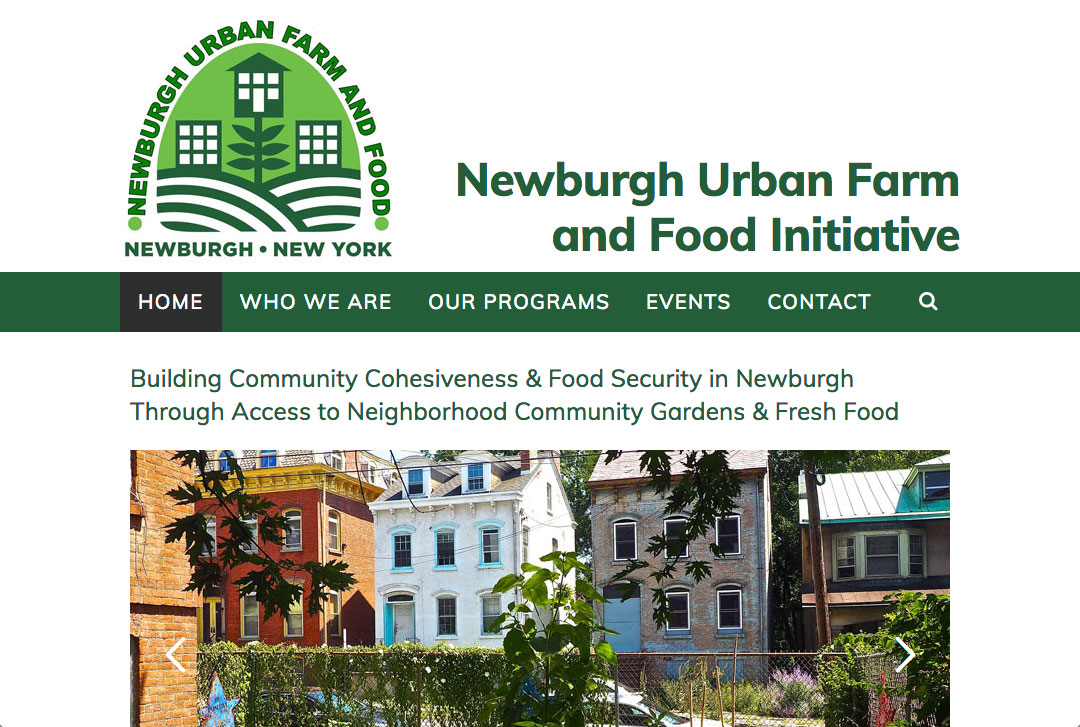 Newburgh Urban Farm and Food Initiative website