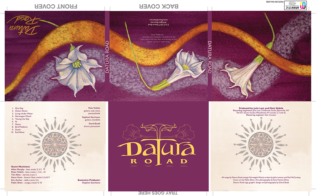 Datura Road logo & CD design