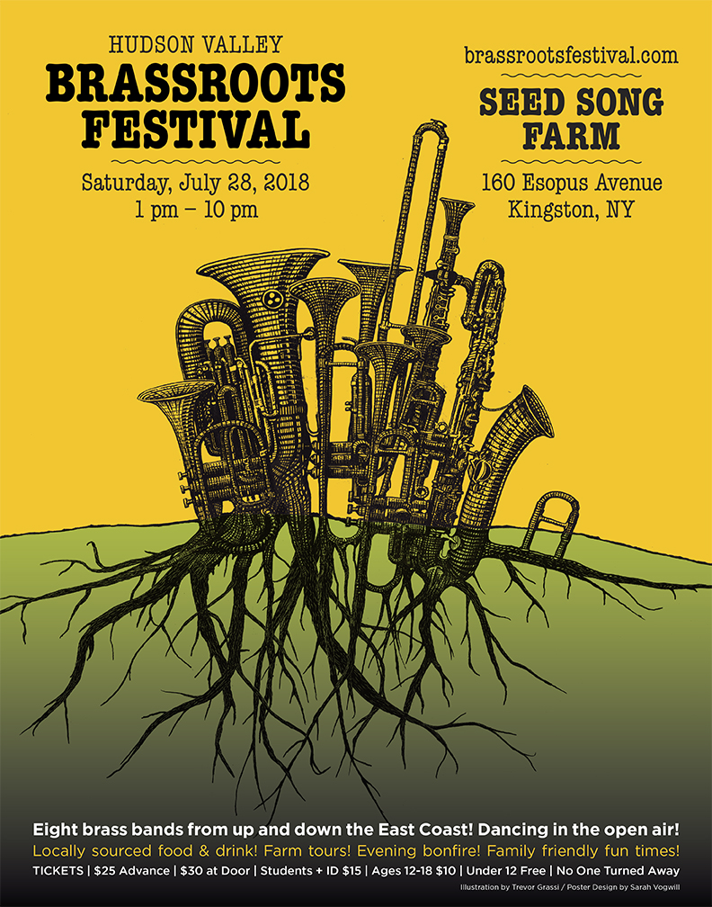 Poster for Brassroots Festival