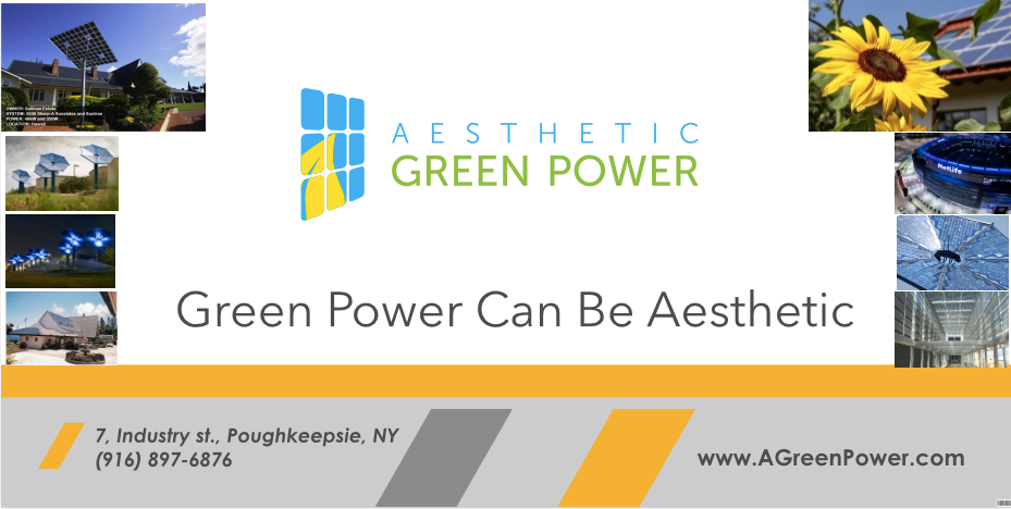 Aesthetic Green Power