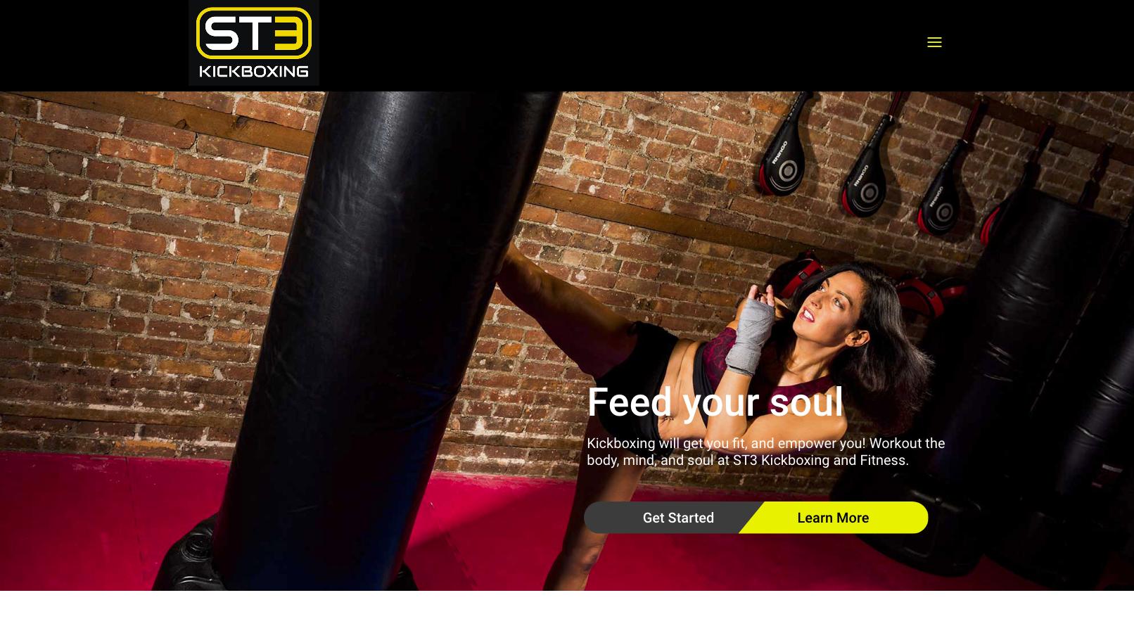 ST3 Kickboxing Branding Photos