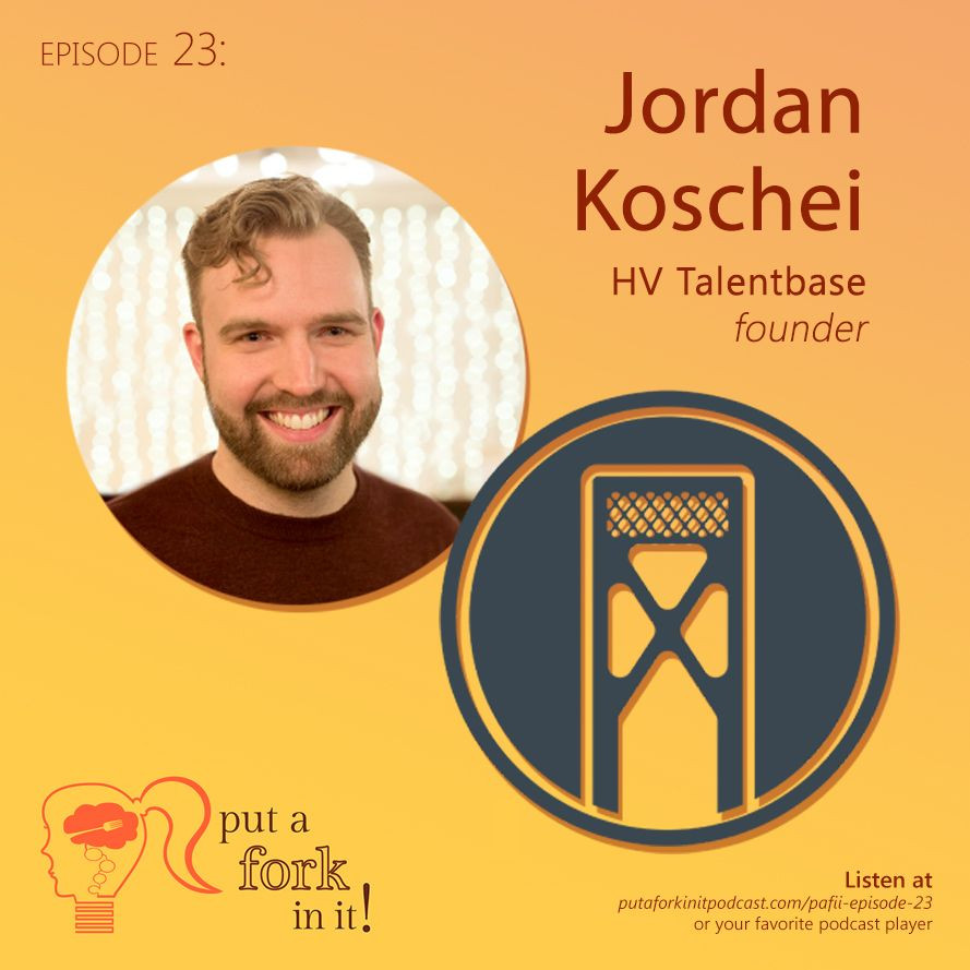 Jordan joins me on the Put a Fork In It Podcast!