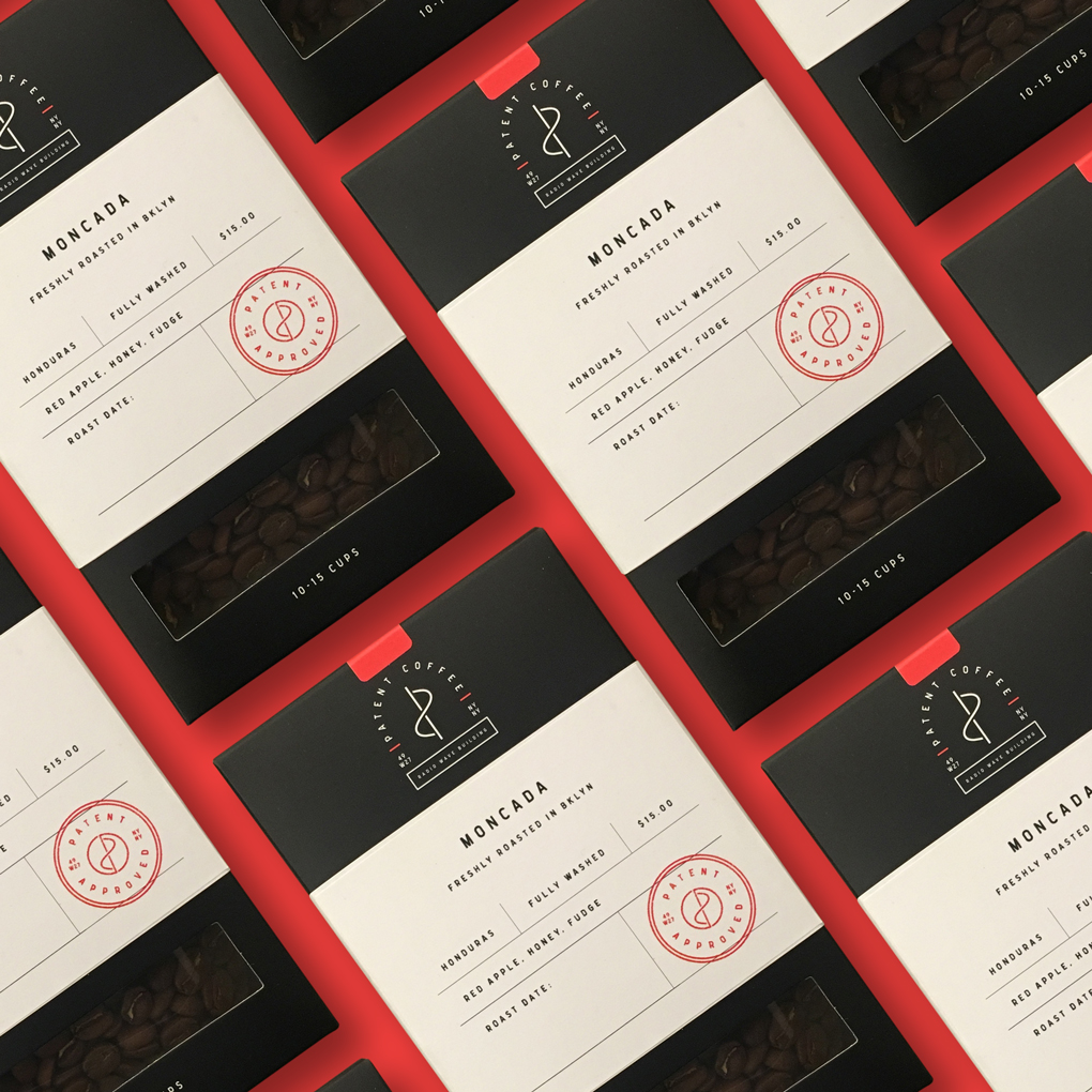 Patent Coffee Branding and Packaging