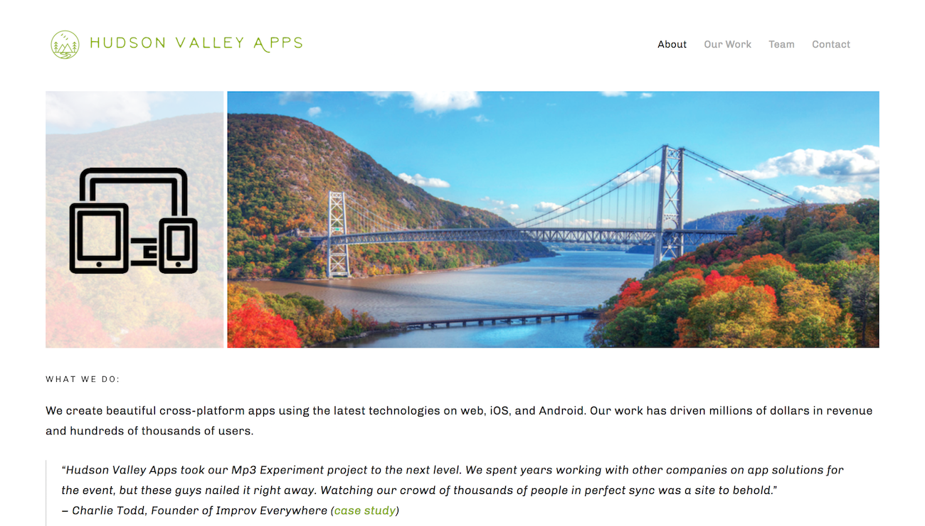Hudson Valley Apps