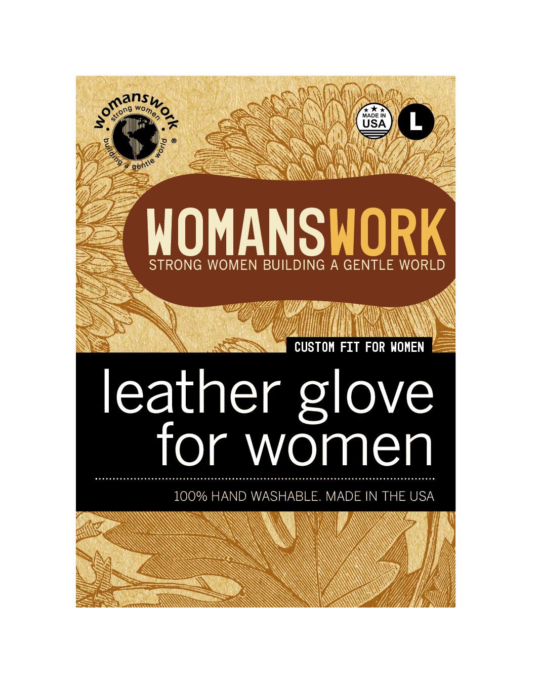 Design for Womanswork glove labels