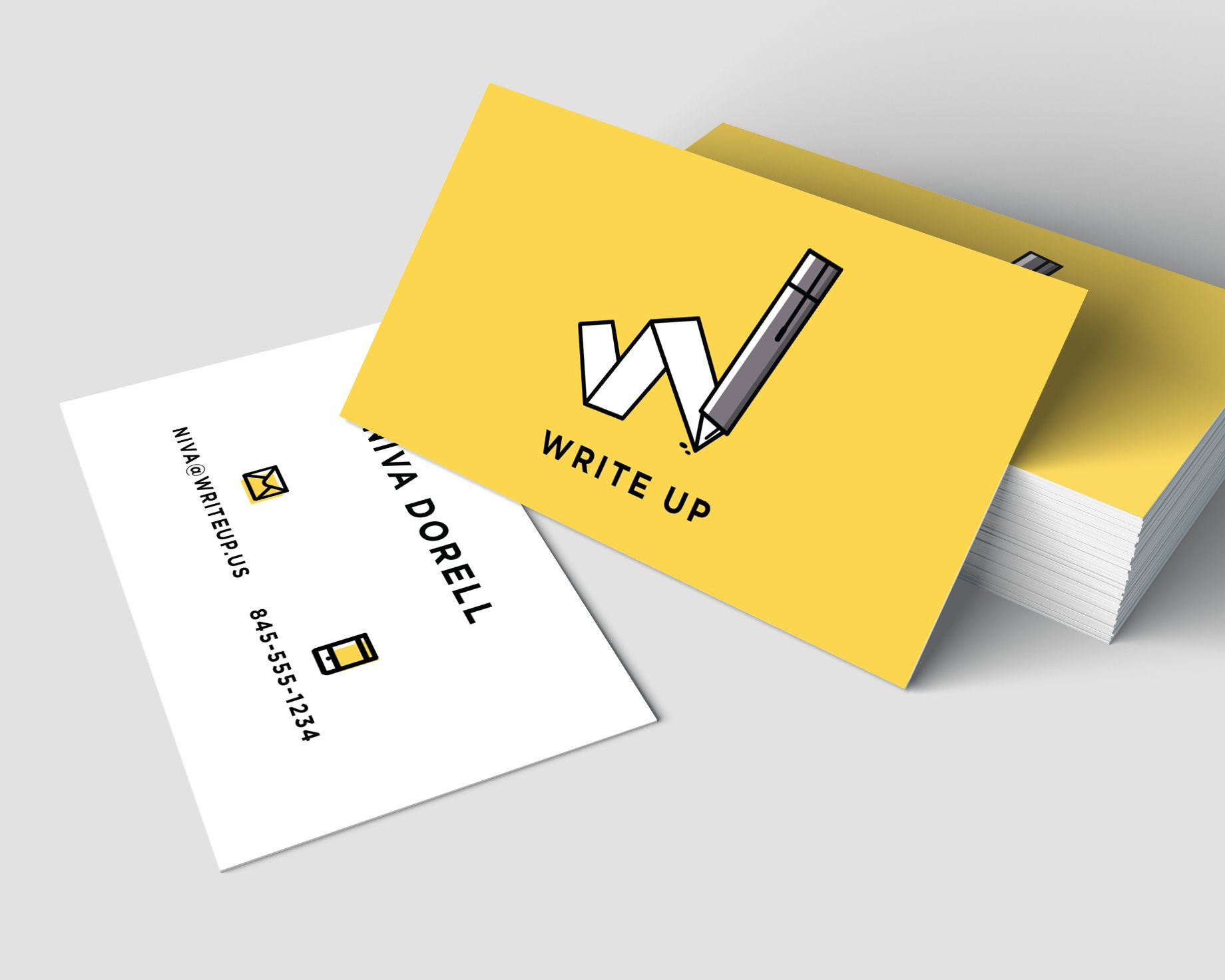 Write Up New York Brand Identity