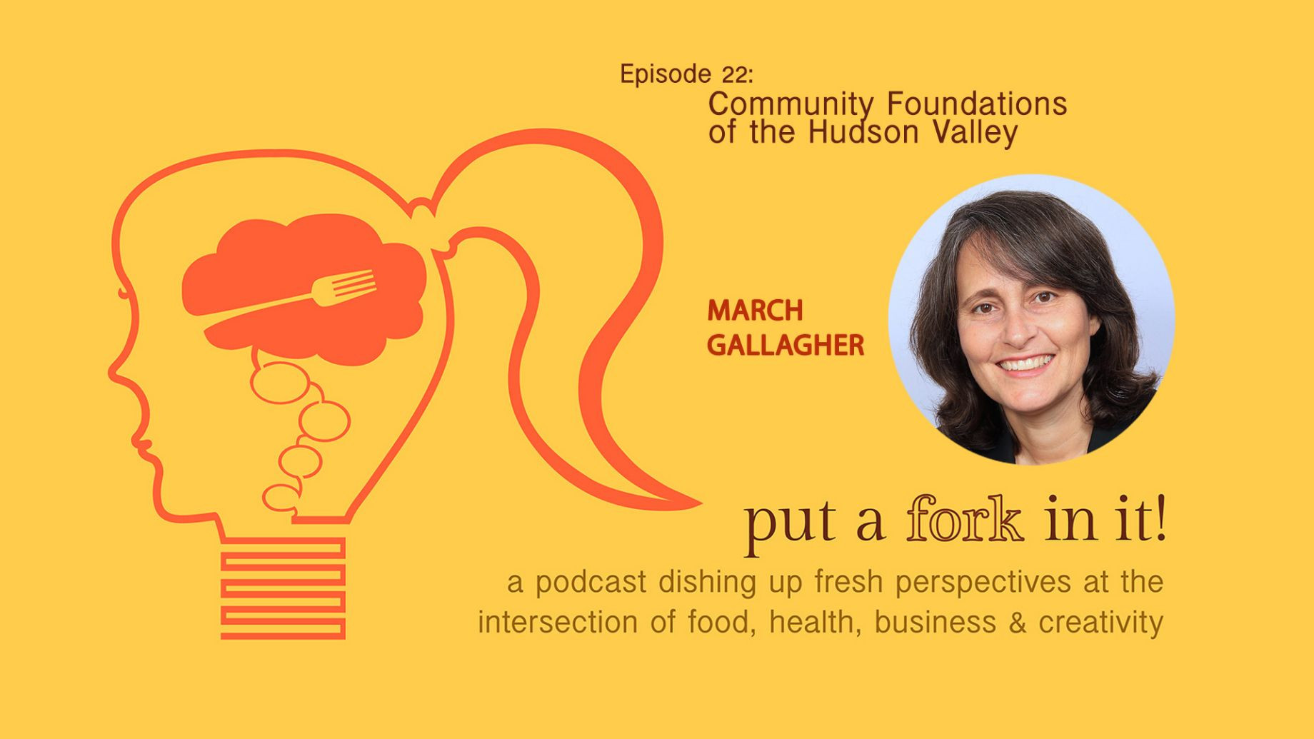 March Gallagher on the Put a Fork In It Podcast
