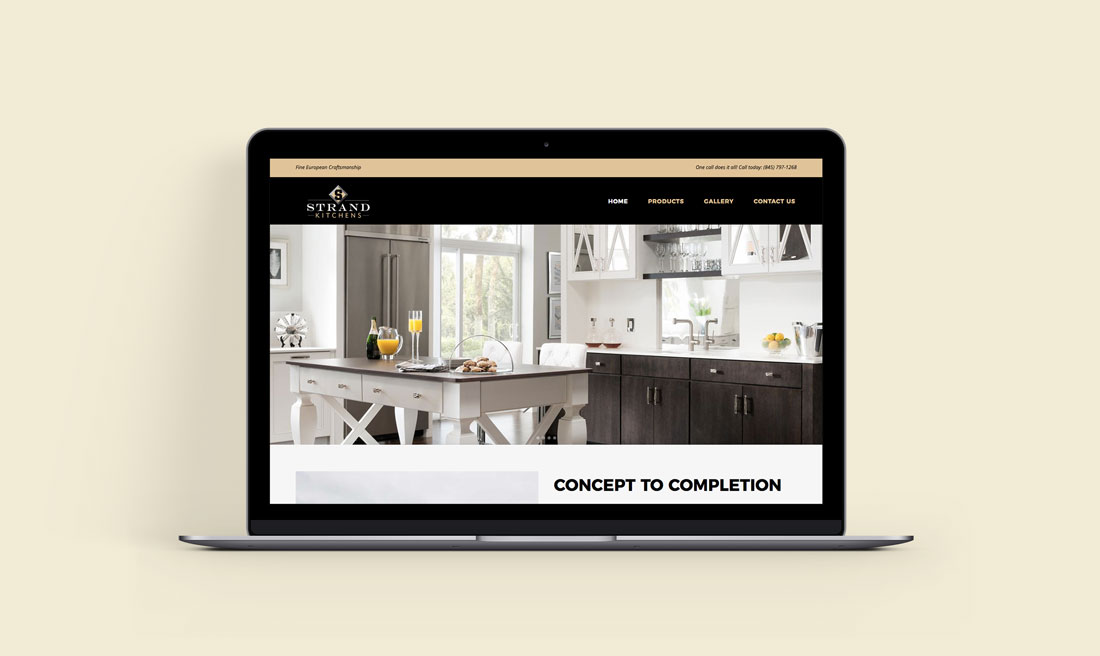 Strand Kitchens Website
