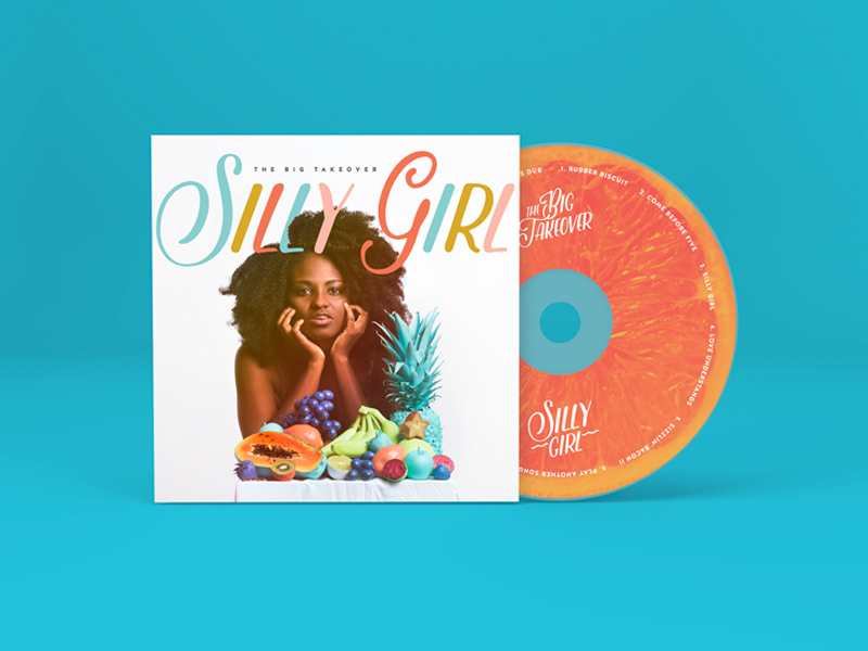 "The Big Takeover ""Silly Girl"" Album Art"