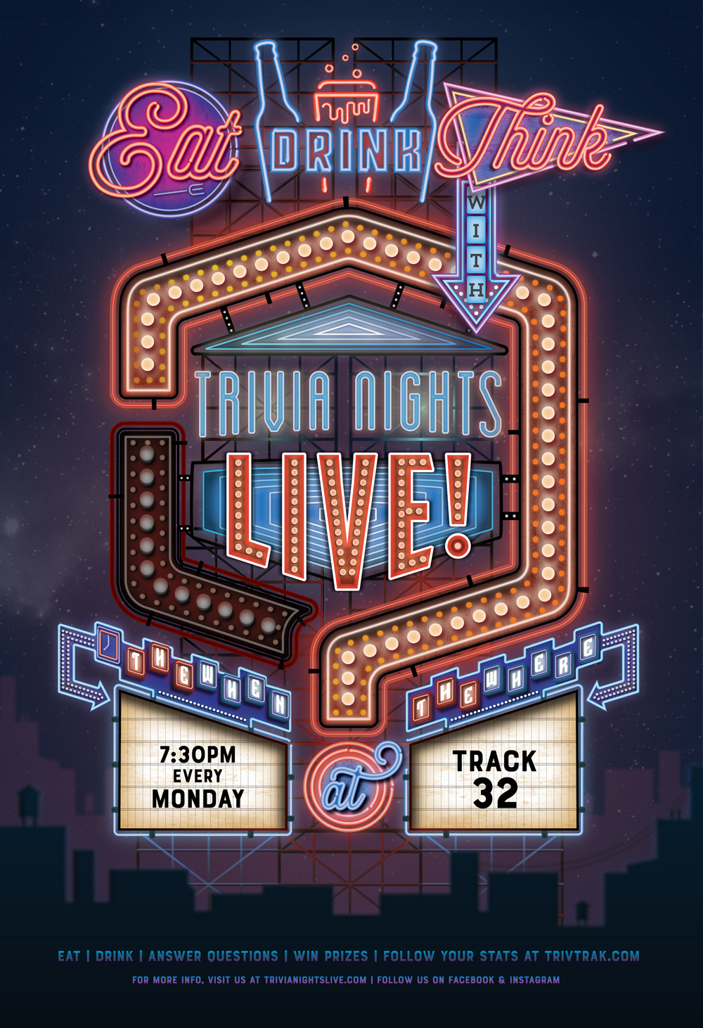 Trivia Nights Live Poster